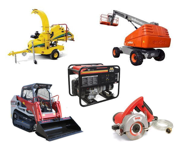 Equipment Rentals in Oregon and SW Washington