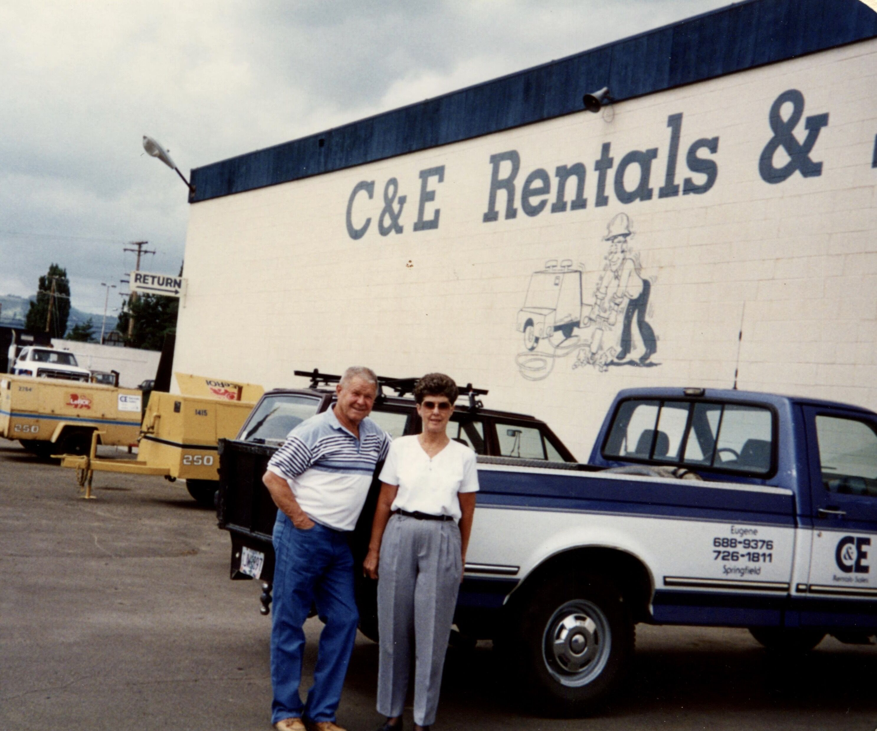 Find out more about C & E Rentals
