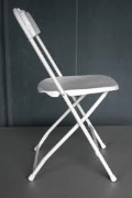 Where to rent CHAIR, FOLDING WHITE POLY in Portland OR